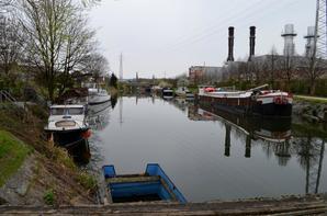 Le Canal de l'Ourthe à Angleur (Liège)