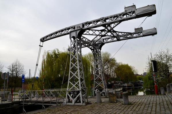 Le pont-levant Marcotty (1852) classé en 1983