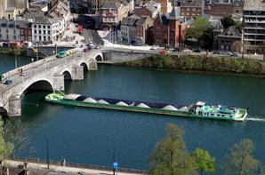 La Meuse depuis la Merveilleuse....   Alexandre Bouglione à la Citadelle    ;)