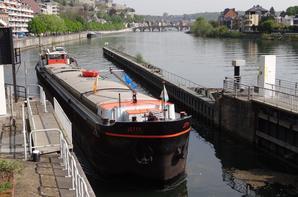 Le beau JETTY (B) Marchienne (Allard), un Plaquet de Péronnes-Lez-Antoing (1963)  - Exemplaire exceptionnel parmi les 5 bateaux de 47m. construits entre 1962 et 1965 pour l'affreteur THIEBAUT à Tournai, dont deux allongés à 52m.