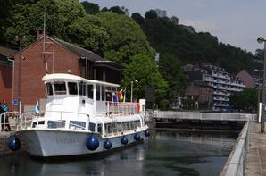 En cette journée réservée à la plaisance, VAUBAN, le nouveau transport de passagers sur Namur  ;)