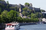 MS ANDANTE de retour de Dinant, DENNIS depuis Givet croise EOLE, SANTELMO annoncé à Tailfer, parmi les 16 bateaux de ce vendredi 16 mai 2014