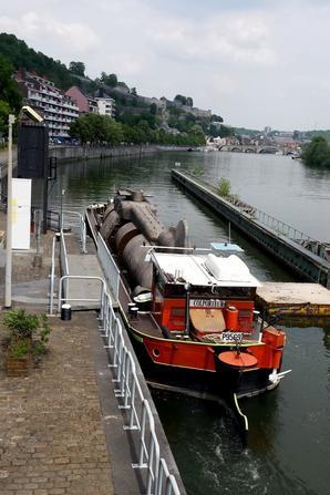 Le COLPORTEUR (F) & le prioritaire ARLENE (NL) parmi les 25 bateaux de ce 26 juin 2014