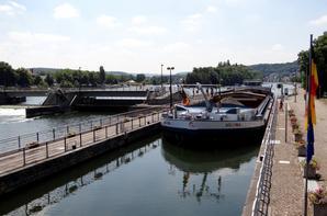 Parmi les 25 bateaux du 2 juillet, VERIDIS QUO (NL), un plaquet de Péronnes-lez-Antoing de 1962, a échappé au preneur d'images...