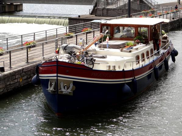 PHOENICIAN, TERRE NEUVE & EMMA, de retour de la Haute-Meuse -  J-1, les joutes nautiques de La Plante (fêtes du Buley) - Hébergements fluviaux namurois