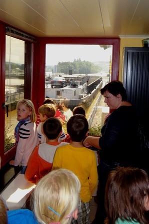 Visite des élèves de l'école fondamentale de Bouge     ;)