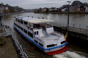 L'échéance de 2015 se rapproche! Destination, le chantier naval de Maasbracht pour le SAX (B) Dinant.