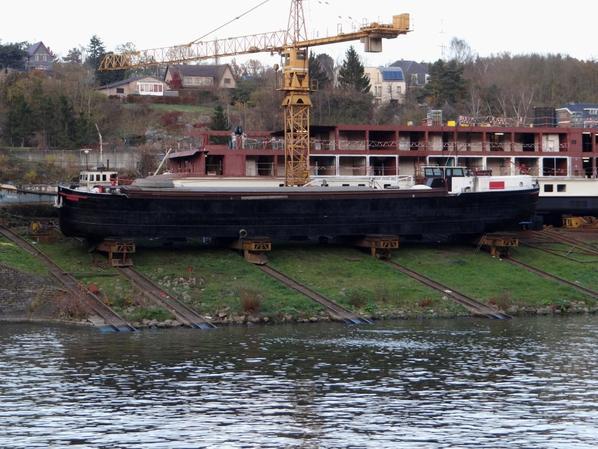 Le PAREATIS au chantier naval de Beez