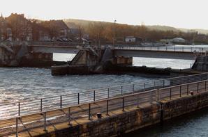 Haute-Meuse, du vent, de l'eau, mais pas de bateaux... :(