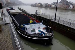 AVENA, 3è charbon, d'une série annoncée en provenance de Rotterdam pour Givet.