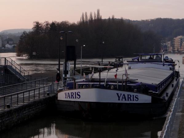SABRINA et VOYE DO CIR parmi les bateaux de ce 5 février 2015.