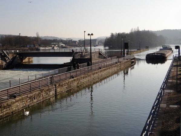 Parmi les 4 bateaux du jour, sur la Haute-Meuse...