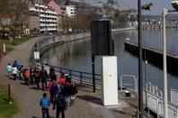 La 4è. de l'Institut Saint Louis de Namur nous a rendu visite (JWE),  ...