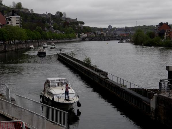 WAULSORT nous voilà... comme chaque année les fidèles de la Haute-Meuse remontent vers leur port d'attache ;)
