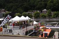 Le trafic du début de la deuxième semaine de juillet au pied de la Haute-Meuse...