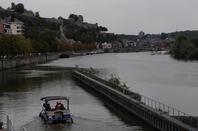 Sous les lumières automnales de la Meuse namuroise... ;)