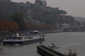 PRINCESS (NL) & VAUBAN (B) bateaux à passagers, de passage à La Plante  ;)