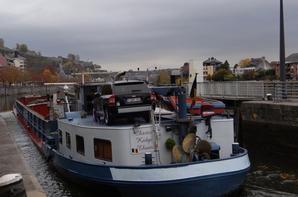 Parmi les 7 bateaux du jour sur la Haute-Meuse...