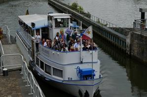 Les statistiques de La Plante, en nombre de bateaux, de 2001 à 2016... Le plus faible mois de juillet avec 940 unités contre 1480 en 2003!
