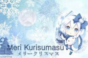 MERII KURISUMASU!!! <3<3<3