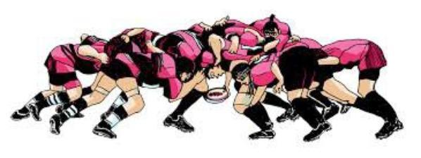 Une de mes passions, le rugby *_* ♥♥♥