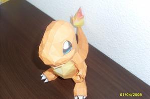 origami : salamèche