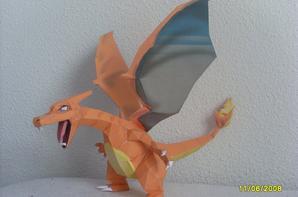 origami : dracaufeu