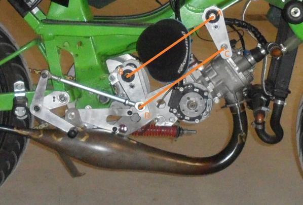 Pour Lagaf47, les platines de fixation moteur arrières
