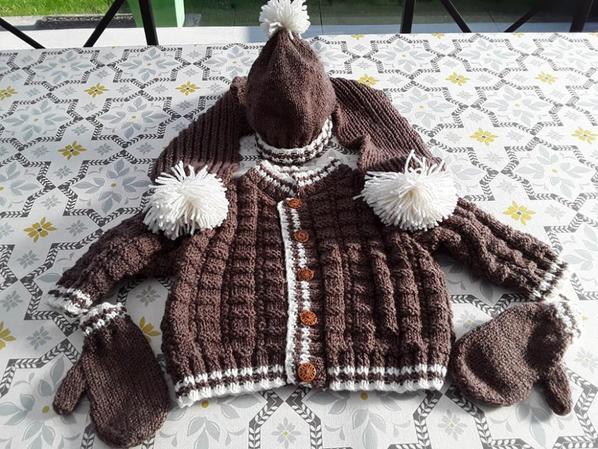 veste bonnet echarpe gants