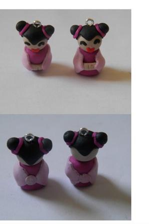 Pendentif poupée chinoise