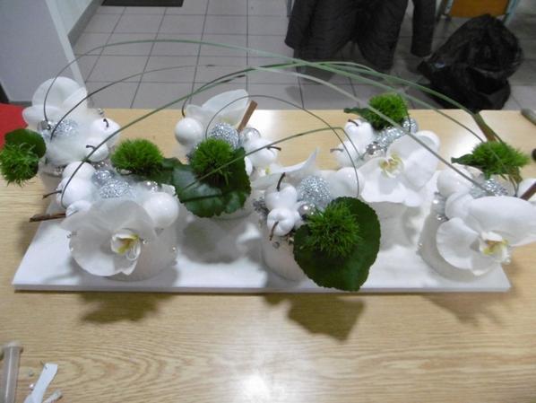 art floral de Noël 2018