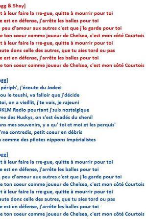 """PAROLES - """"Thibaut Courtois [NOUVELLE VERSION]"""" AVEC SHAY"""