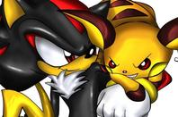 Sonic, Shadow, Silver et leur premier pokemon + transformation en pokemon