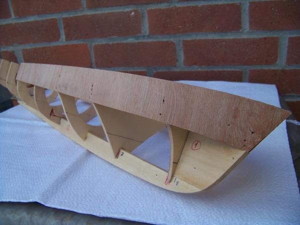 Voilà le début de la construction de la vedette P760.