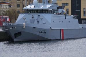 Petite balade à Dunkerque : Le patrouilleur FLAMANT