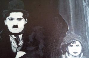 """The kid"" avec Charlie Chapplin"