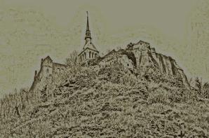 La Face cachée du Mt St Michel