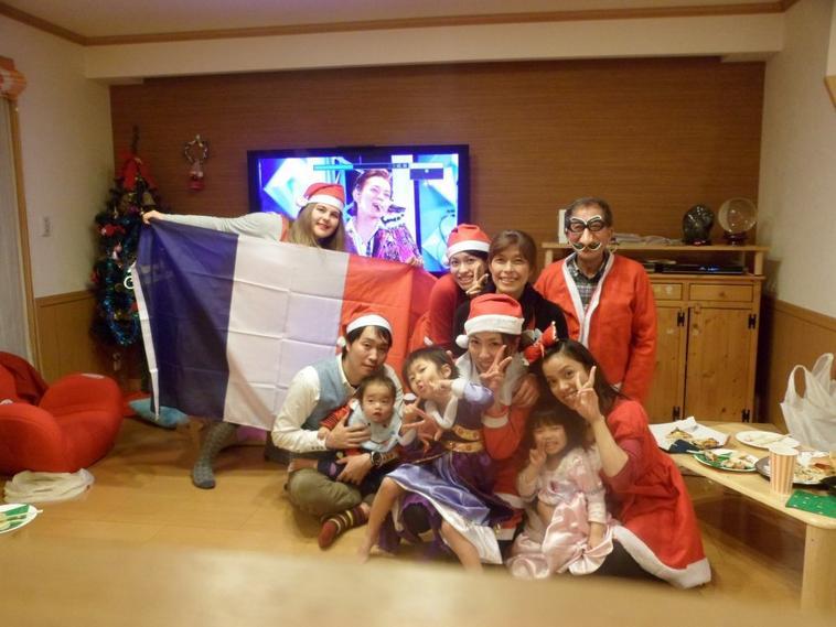 PHOTOS Fête de Noël avec ma famille d'accueil