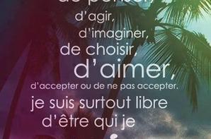 etre libre!!!!!!!!!!!!!!!!!!!!!!!!!bonne apres   midi!!!!!!!!!!!!!!!!!!!