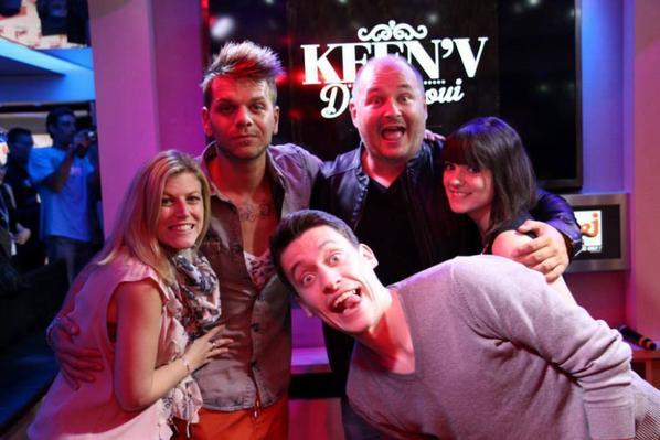 Keen'V chez NRJ le 22/05/2014