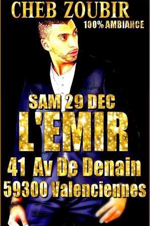 SOIREES POUR LA DERNIERE SEMAINE DE L'ANNEE 2012 !