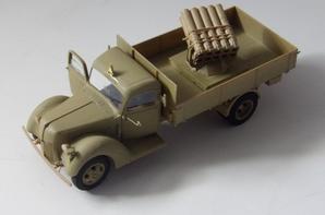 panzer werfer 42 sur  camion