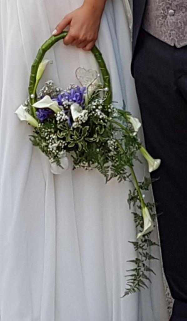 Mariage en bleu et blanc