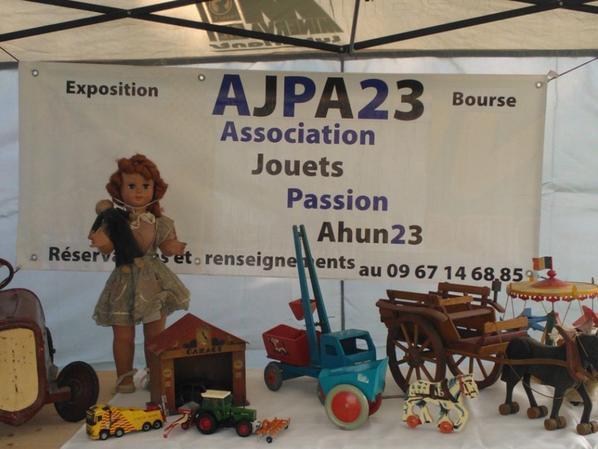 mon association AJPA23 BOURSE A AHUN LE 04 OCTOBRE