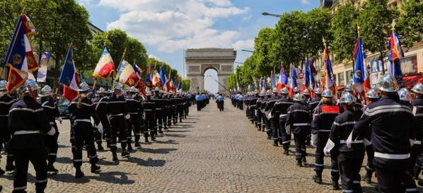 journée nationale des sapeurs pompiers 10 JUIN 2016 PARIS