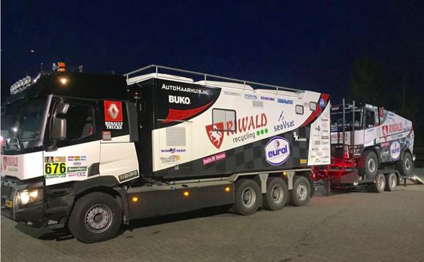 les camions d'assistance Dakar 2018