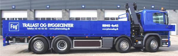 camion porte-fers scania