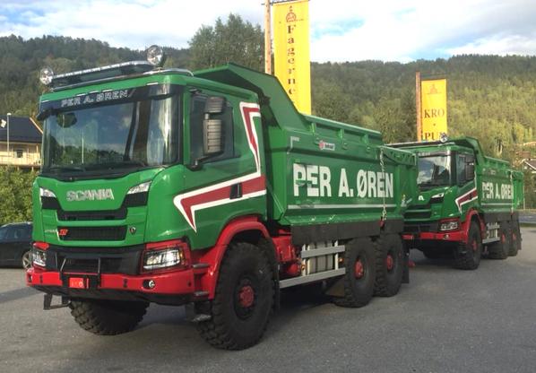 Scania benne 6x6
