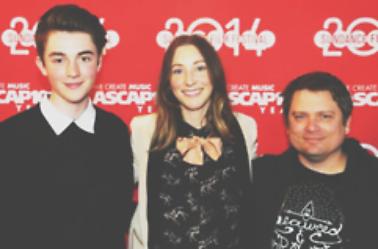 24 Janvier 2014 . Greyson au Festival du film de Sundance dans l'Utah. ASCAP.