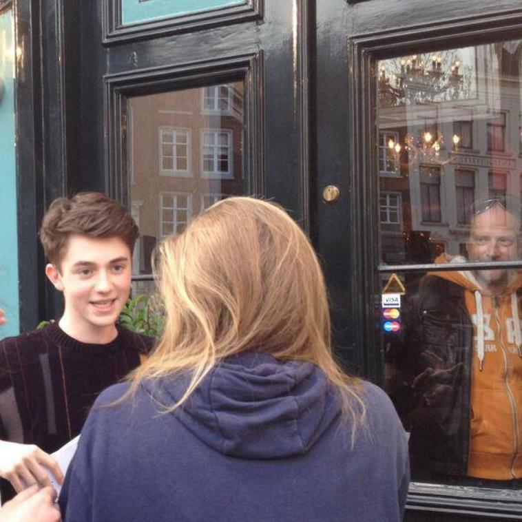 Greyson Chance en Holland